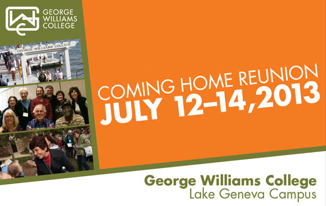 Join GWC alumni at Coming Home 2013!